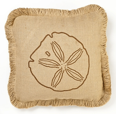 Zentique Square Jute Throw Pillow