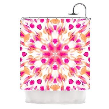 KESS InHouse Batik Mandala Shower Curtain