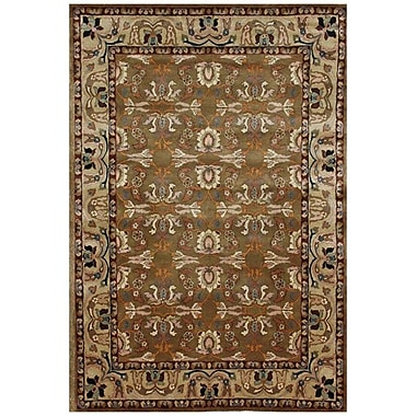 Acura Rugs Aaryan Brown/Beige Area Rug; 8' x 10'6''