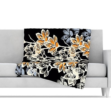 KESS InHouse Crocus Throw Blanket; 80'' L x 60'' W