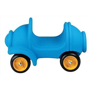 Wesco NA Small People Carrier Push/Scoot Car; Light Blue