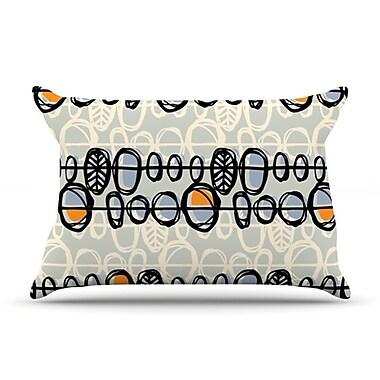 KESS InHouse Benin Pillowcase; King