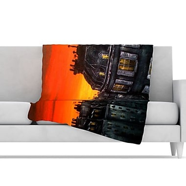KESS InHouse Paris Throw Blanket; 80'' L x 60'' W