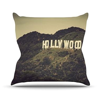 KESS InHouse Hollywood Throw Pillow; 16'' H x 16'' W