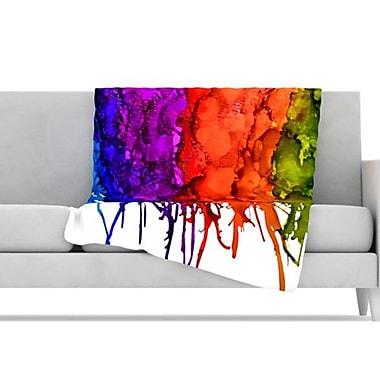KESS InHouse Clairevoyant Throw Blanket; 60'' L x 50'' W