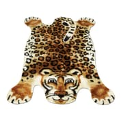 Walk On Me Leopard Kids Rug; 4'7'' x 6'7''