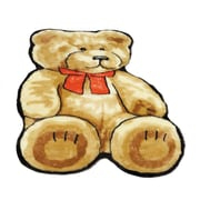 Walk On Me Teddy Bear Kids Rug; Novelty 2' x 4'