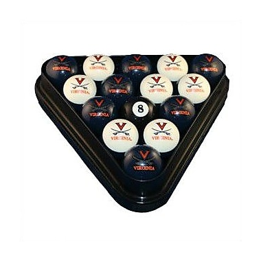 Wave 7 NCAA Pool Ball Set; Virginia
