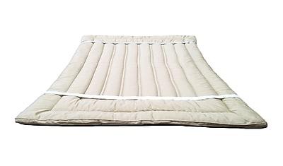Sleep & Beyond Organic 1.5'' Wool Mattress Topper; Full