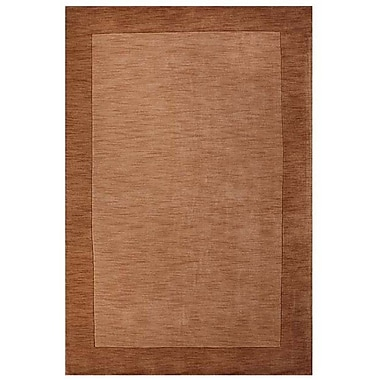 Acura Rugs Loom Beige/Brown Rug; 5' x 8'