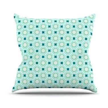 KESS InHouse Tossing Pennies I Throw Pillow; 26'' H x 26'' W
