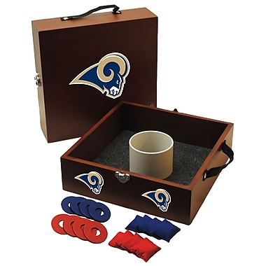 Tailgate Toss NFL Washer Toss Game Set; St. Louis Rams