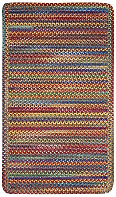 Capel Kill Devil Hill Bright Multi Rug; Round 5'6''