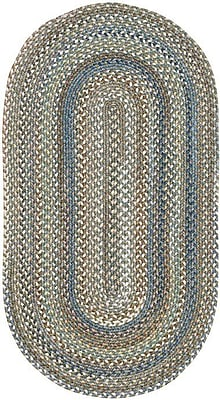 Capel Kill Devil Hill Multi Rug; Oval 7' x 9'