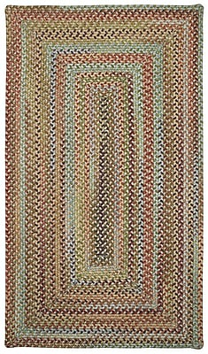 Capel Kill Devil Hill Dusty Multi Rug; Cross Sewn 2' x 3'