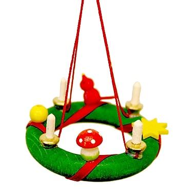 Christian Ulbricht Christmas Wreath Ornament