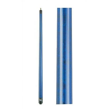 GLD Products Viper Sterling Unwrapped Pool Cue; Blue