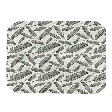 KESS InHouse Feather Scene Placemat