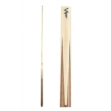 GLD Products Viper 1-Piece Pool Cue; 21 oz