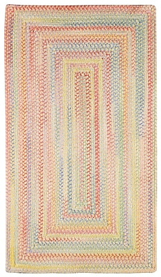 Capel Baby's Breath Buttercup Kids Area Rug; Concentric 8' x 11'
