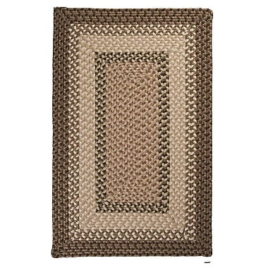 Colonial Mills Tiburon Spruce Green Braided Indoor/Outdoor Area Rug; Square 6'