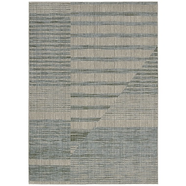 Calvin Klein Rugs Urban Faroes Glacial Area Rug; Rectangle 5'3'' x 7'5''
