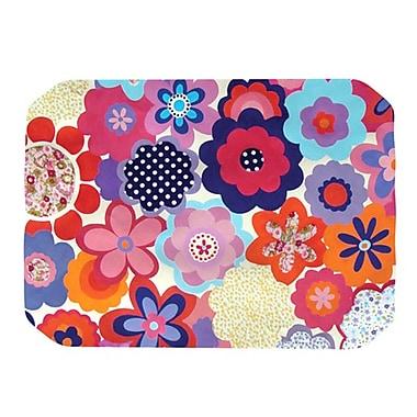 KESS InHouse Patchwork Flowers Placemat