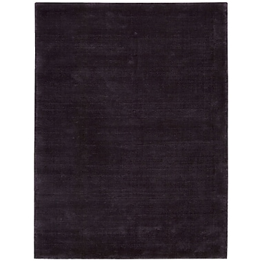 Calvin Klein Rugs Lunar Hand-Woven Luminescent Rib Amethyst Area Rug; Rectangle 7'9'' x 10'10''