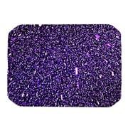 KESS InHouse Purple Dots Placemat