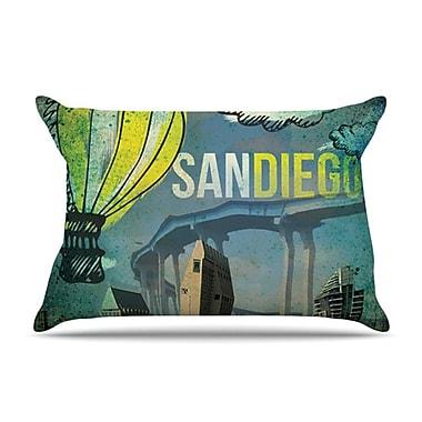 KESS InHouse San Diego Pillowcase; King