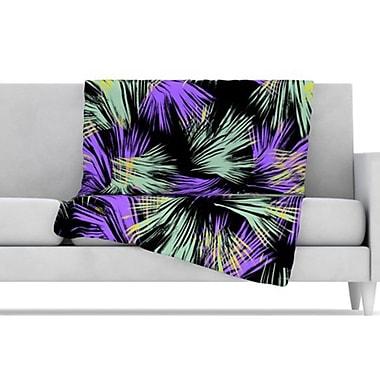 KESS InHouse Tropical Fun Throw Blanket; 60'' L x 50'' W