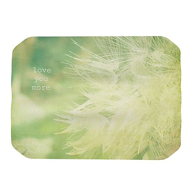 KESS InHouse Love You More Placemat