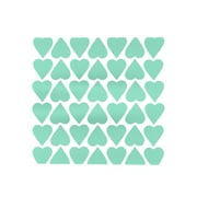 KESS InHouse Up and Down Hearts Placemat