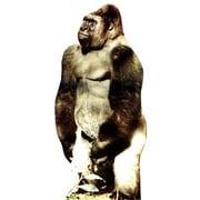 Advanced Graphics Animals Gorilla Wall Mural; Cardboard Standup