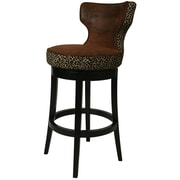 Impacterra Augusta 30.75'' Swivel Bar Stool