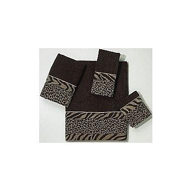 Avanti Linens Cheshire 4 Piece Towel Set; Java