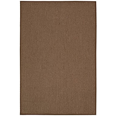 Calvin Klein Rugs Kerala Java Chocolate Area Rug; 2'6'' x 4'2''