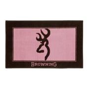 Browning Bath Mat; Pink