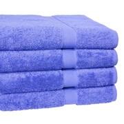 Homestead Textiles Ring Spun Cotton Line Bath Towel 4 Piece Towel Set (Set of 4); Morning Glory