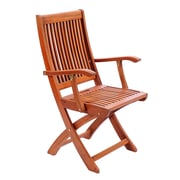 ACHLA Home And Garden Folding Patio Dining Chair