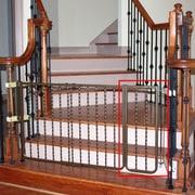 Cardinal Gates 10.5'' Extension for Metal D cor Gate; Bronze