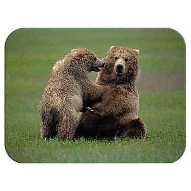 McGowan Tuftop Bears Pushover Cutting Board; Small (9''x12'')