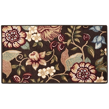 Brumlow Mills Anniston Chocolate/ Moss Area Rug; 1'8'' x 2'10''