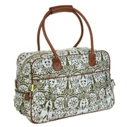 Amy Butler Dream Traveler 20'' Carry-On Duffel; Temple Doors Tobacco