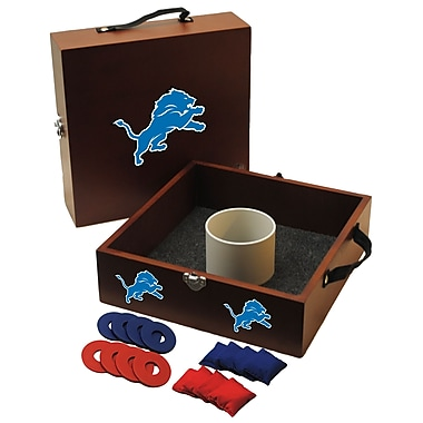 Tailgate Toss NFL Washer and Ring Toss; Detroit Lions