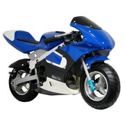 Big Toys MotoTec Pocket Motorcycle; Blue
