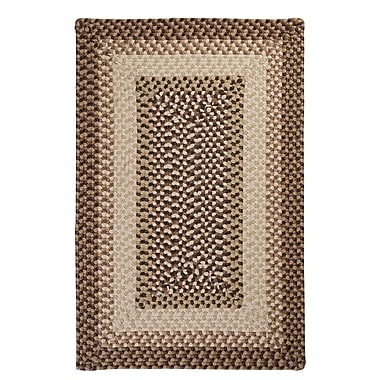 Colonial Mills Tiburon Sandstorm Braided Indoor/Outdoor Area Rug; Square 10'