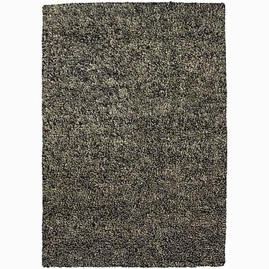 Chandra Evyon Gray Area Rug; 5' x 7'6''