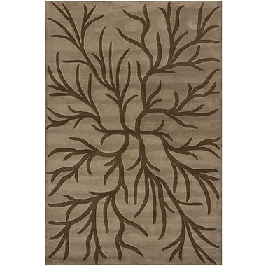 Chandra INT Brown/Mocha Area Rug; 5' x 7'6''