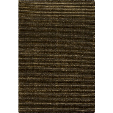 Chandra Ulrika Brown/Green Area Rug; 2' x 3'